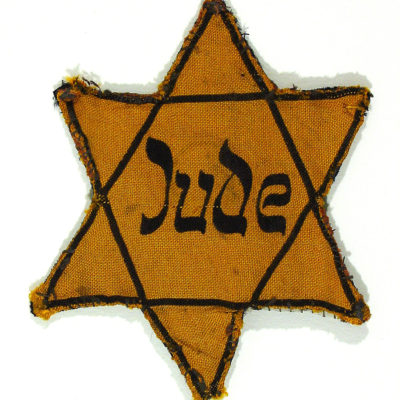 Artifact: Nazi yellow star for Jews
