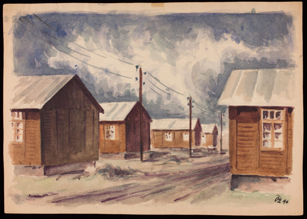 Peter Lowenstein, South Barracks, 1944