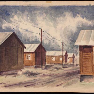 Peter Lowenstein, South Barracks, 1944