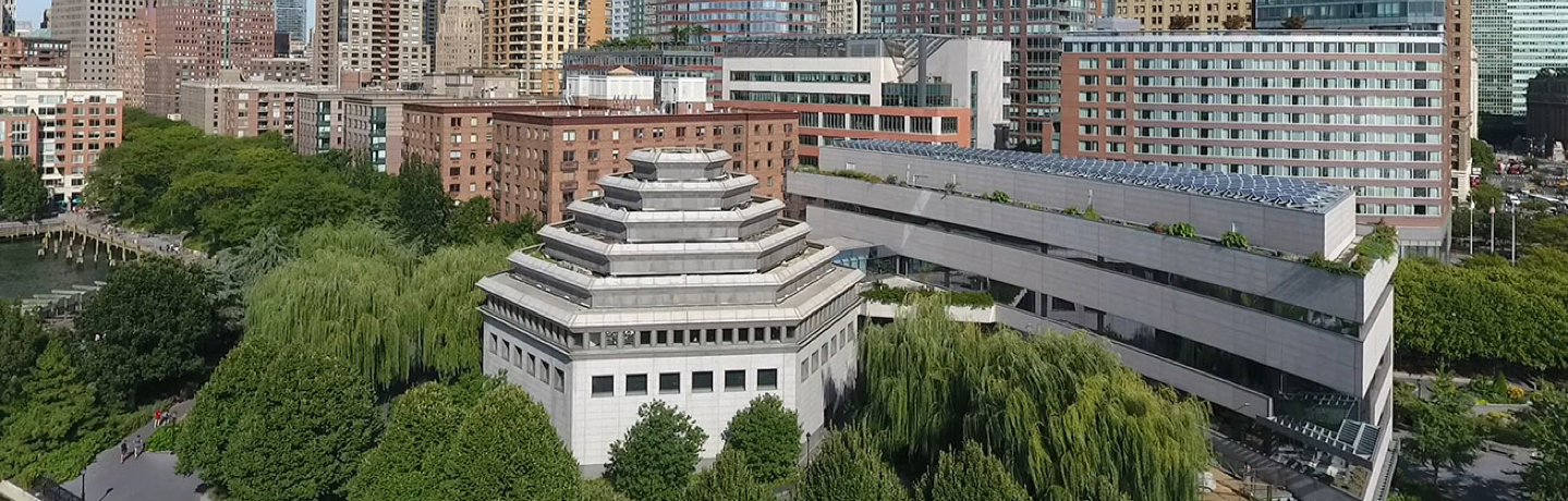 museum of jewish heritage aerial view