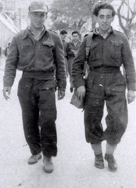 Yisrael in his Israel Defense Forces (IDF) uniform.