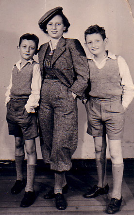 The Friedlander siblings, 1937.