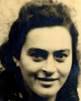 Rachel Dershowitz, 1947.