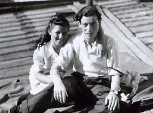 Moshe and Angie.
