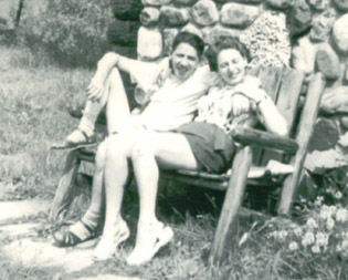 Inge and Guenther, circa 1950.