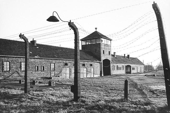 Auschwitz-Birkenau, 1988, photograph © Ira Nowinski.