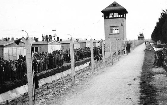 Liberation of Dachau, April 1945.