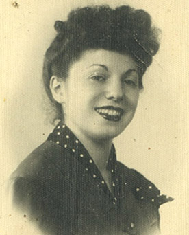 Anna, circa 1946.