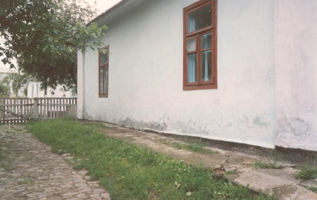 Meir's home in Korets.
