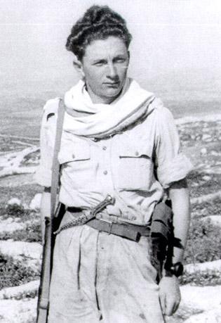 Marek in Israel, 1949.