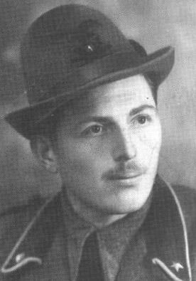 The Italian soldier, Giovanni Ferro.