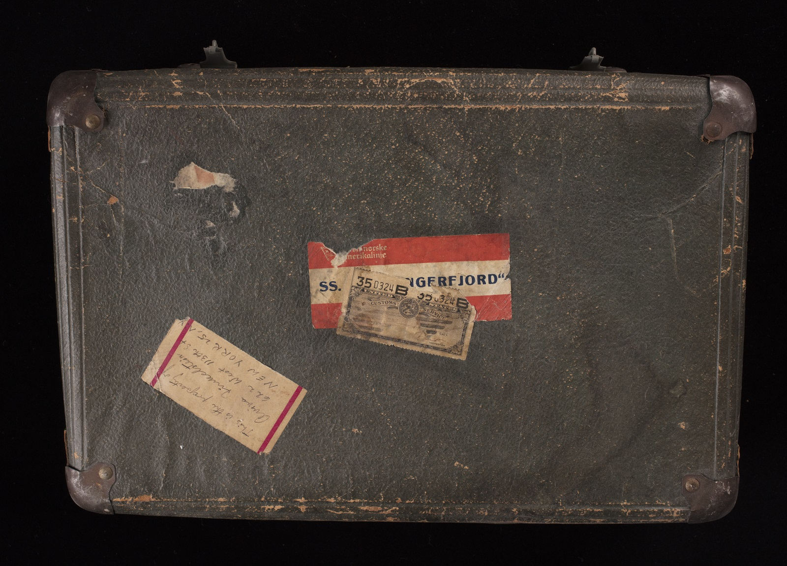 Finkelstejn Suitcase Front Angle