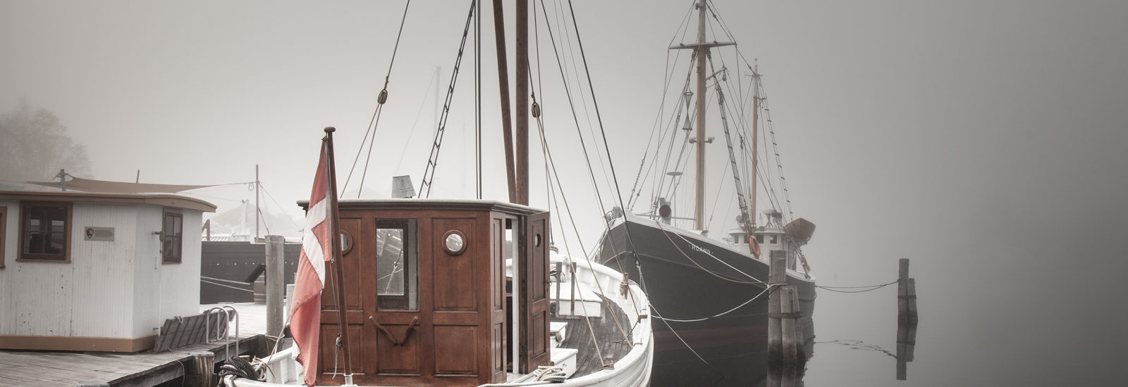 The Gerda III on view at Mystic Seaport