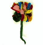 Flower made by Else Sachs