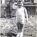 Richark Rozencwajg as a small boy