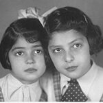 Gita and Zuzana Hojtasova as children